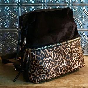 Jessica Simpson Leopard Backpack Karalia JS53190